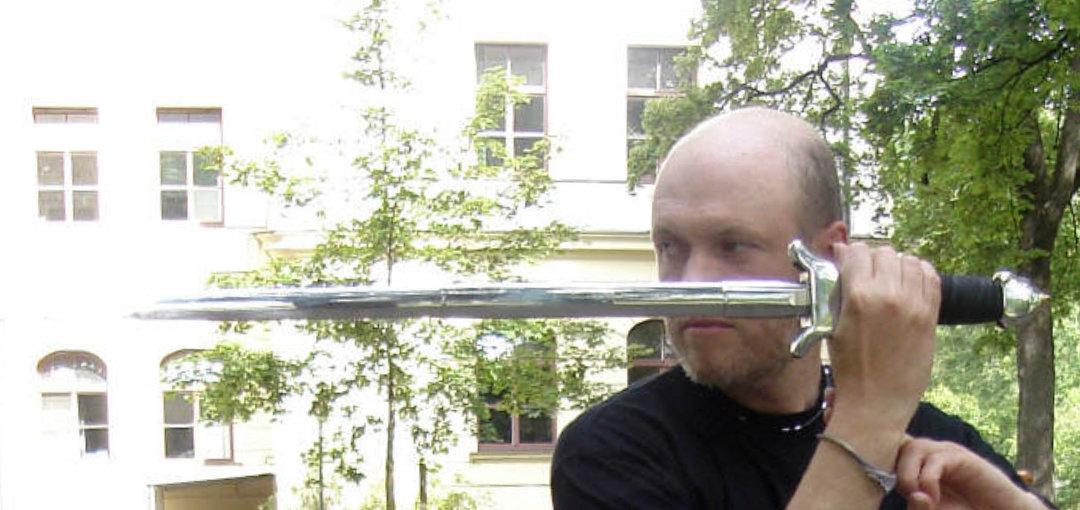 Taijijian Schwertform des Taiji